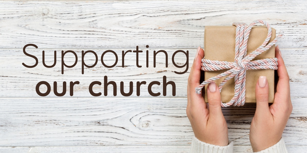 Supporting-our-church-advert