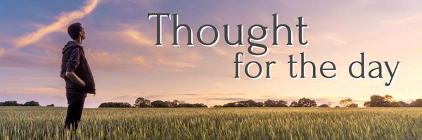 Thought for the day banner ima