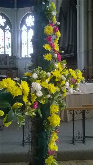 Easter Cross at St Andrew's