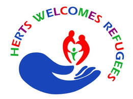 Herts Welcomes Refugees logo